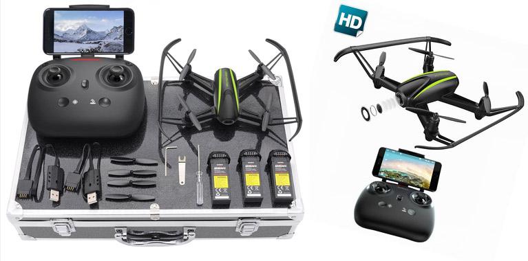 Le Drone caméra HD Potensic, idée cadeau original pour homme de 30 à 40 ans