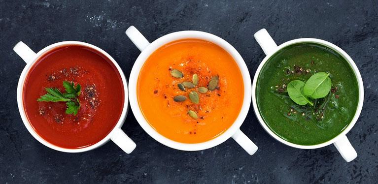 La soupe est un autre repas parfaitement adapté à un régime minceur